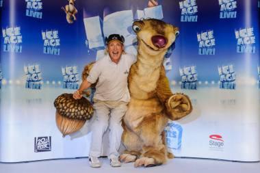 Шоу «Ледниковый период Live» предлагает бонусы для детей