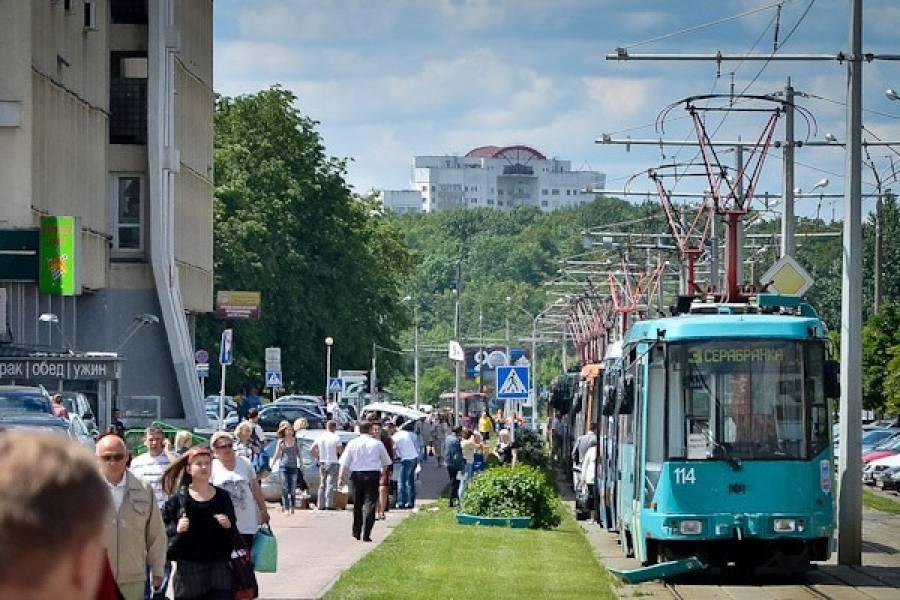 ВМинске девочка угодила под трамвай