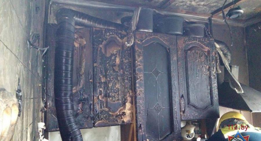 Гражданин Минска получил ожоги 60% тела из-за вспышки газовоздушной смеси вквартире