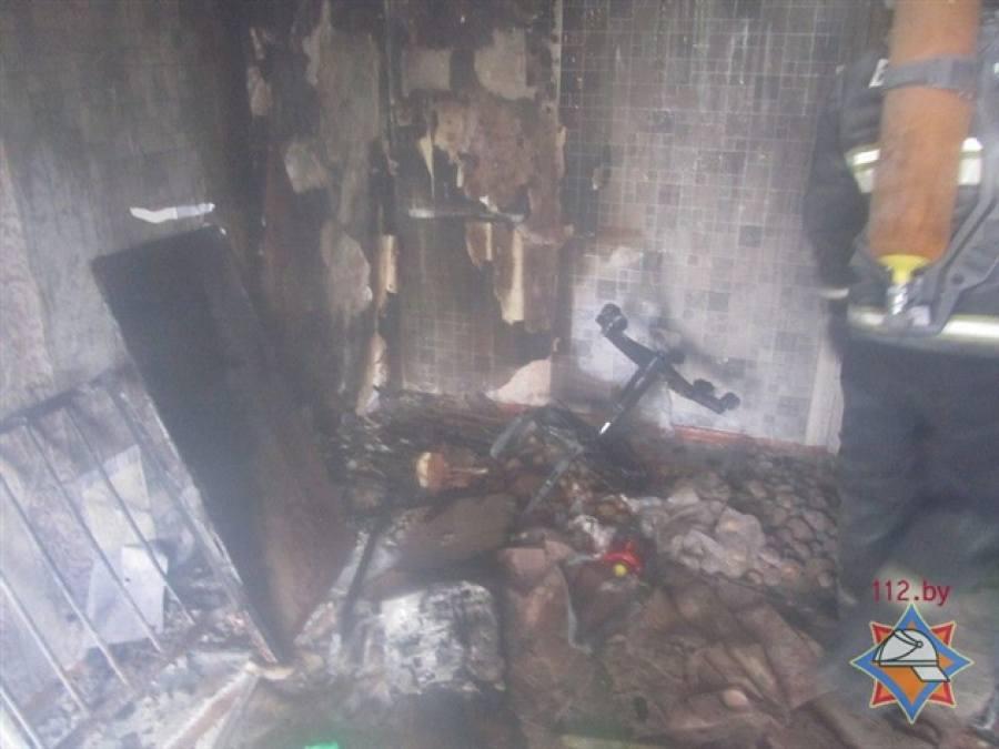 Шалость с огнем: вГродно из-за пожара изобщежития эвакуировались 50 человек