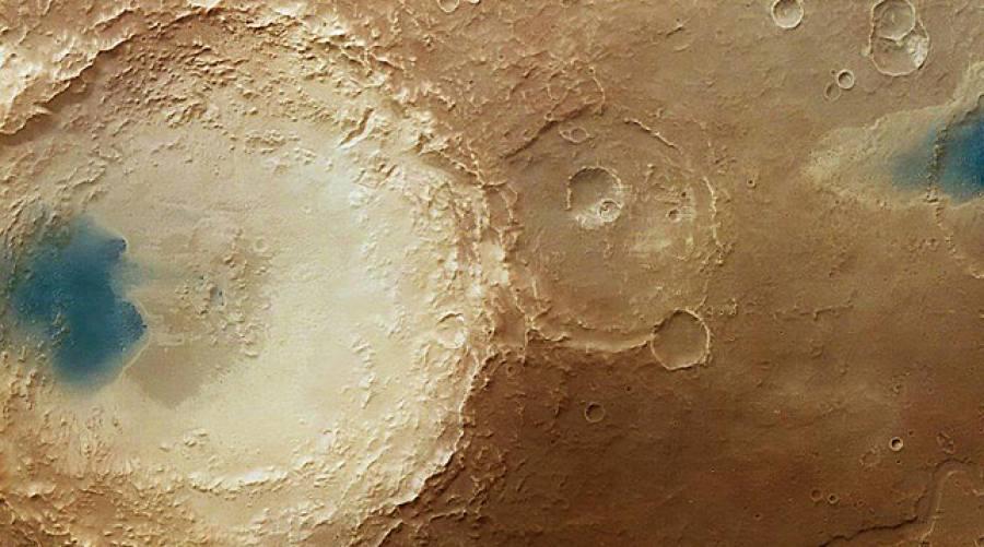 Вода сМарса испарилась