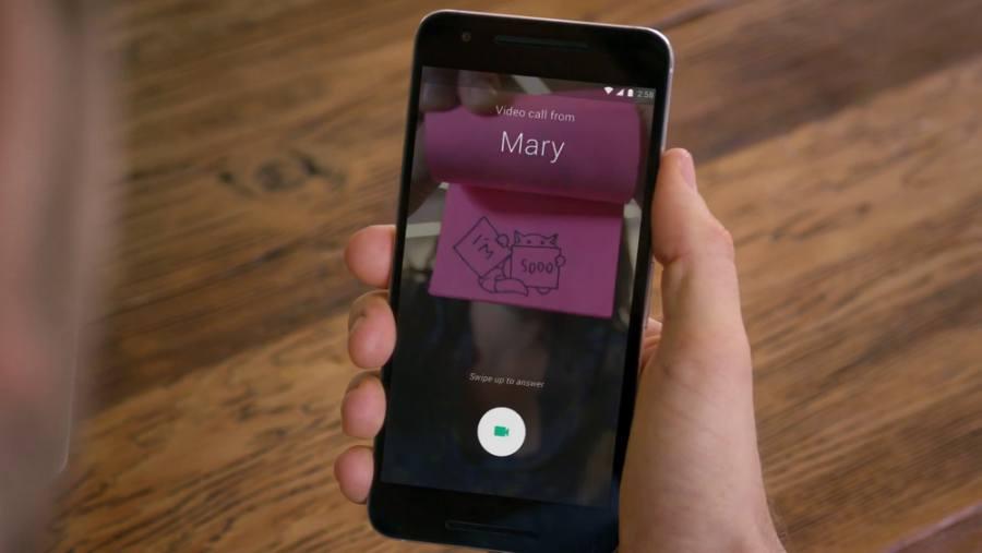Мессенджер Google Duo уже вPlay Market