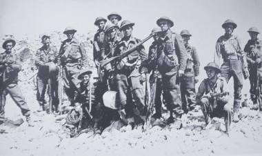 5-ю Кресовую дивизию, где воевали белорусы, называли «Зубры».
